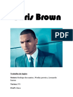 Chris Brown ( Trabalho de Ingles )