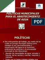 Politicas Municipales