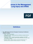 Acute Lung Injury and ARDS