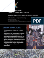 PL511 URP LECTURE005 - Urban Structure Models