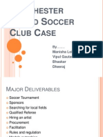 Manchester United Soccer Club Case