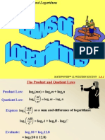26Laws of Logarithms