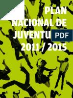 Uruguay. Plan Nacional de Juventudes 2011 - 2015