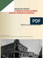 Análisis Museo de la Ciudad de Tuxtla Gutiérrez, Chiapas.  Arq. Julio Gomez Rangel