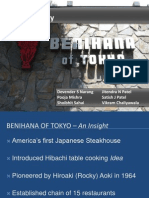 Benihana Group 5 Final