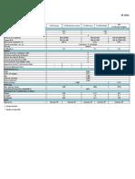 Especificaciones Xf