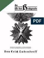 Ludendorff, Erich - Schändliche Geheimnisse der Hochgrade; Ludendorffs Verlag, 1932,