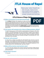 Join the UTLA House of Reps!