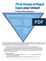 UTLA Governance at a Glance
