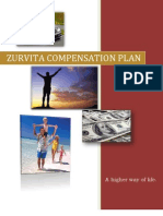 "Zurvita ""Zeal for Life"" Compensation Plan"