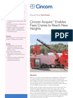 Cincom Acquire™ Enables Fassi Cranes to Reach New Heights