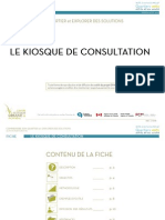 Fiche - Le kiosque de consultation