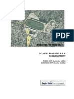 Belmont Park Redevelopment Request for Proposals
