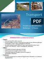 Diapo de Transport Routier Au Maroc Et La Localisation Des Entreprises