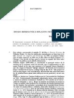 Estado benefactor e inflacion crónica Wilhelm Ropke
