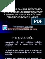Modelo de Tambor Rotatorio para la elaboracion de Compost