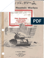 WWII Armored Mountain Warfare