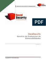 Servicio Vulnerabilidades