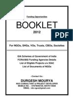 Consultancy Booklet 2012-13