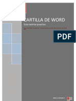 Cartilla de Word