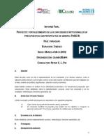 Inclusion de La Perspectiva de Genero en El Presupuesto Publico. Peter Pei-SMPR-OnU MUJERES-CEAMSO