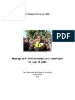 20 Yaers of Urban Heritage and Conservation in Mozambike Island