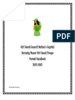Girl Scout Council Handbook 2012-2013