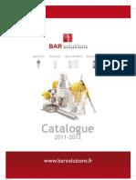 Catalogue Bar Solutions 2012
