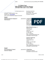 INDEMNITY INSURANCE COMPANY OF NORTH AMERICA et al v. W&T OFFSHORE INC Docket