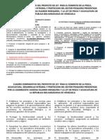 Proyecto de Ley Para el sector pesquero, fiel copia de Ley venezolana