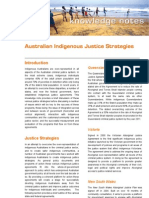2007 05 Australian Indigenous Justice Strategies - Synexe Knowledge Note