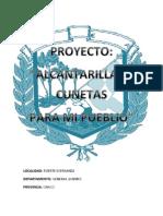 PROYECTO ALCANTARILLAS