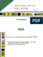 FormulaRios de HTML