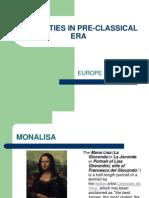 Humanities in Pre-classical Era