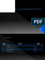 Components of a Personal Computer CD-Rom