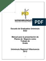 Manual EGU Para Planes de Negocio