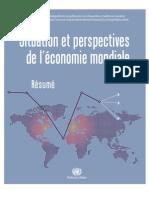 Perspectives Economiques Mondiales Pour 2012 Et 2013