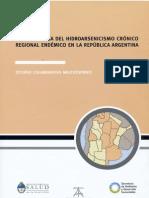 Hidroarsenicismo en La Argentina
