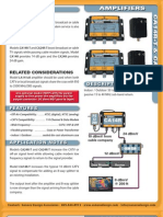 Sonora CA24R-T Cable HDTV ATSC 24db Amplifier Spec Sheet