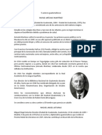 5 autores guatemaltecos