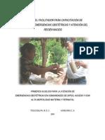 Manual Del Facilitador Capacitacion de Nuevas Parteras