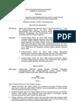 Permendagri 11 2010 Pengangkatan Dan Pemberhentian Pejabat Pencatatan Sipil Dan Petugas Registrar