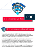 BPS Information and Digital Literacy Goals