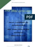 Partes o Integrados Del Microprocesador