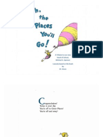 Oh The Places Youll Go Dr Seuss Pdf