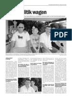 Interview Werner Gatzer in Costa Blanca Nachrichten