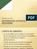 Enfermedades sistémicas y endocrinas