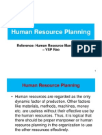 HRM 2 Human Resource Planning