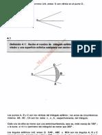 Triángulos esféricos