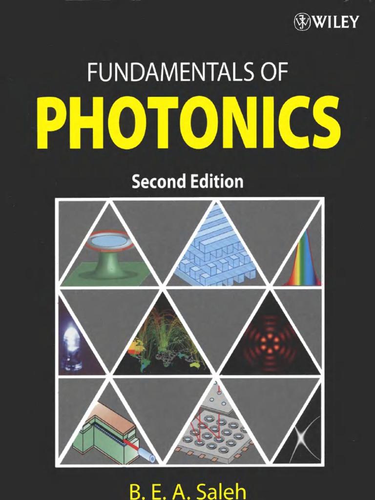 Fundamentals of photonics fandeluxe Choice Image